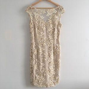 Ralph Lauren Cream dress size 12